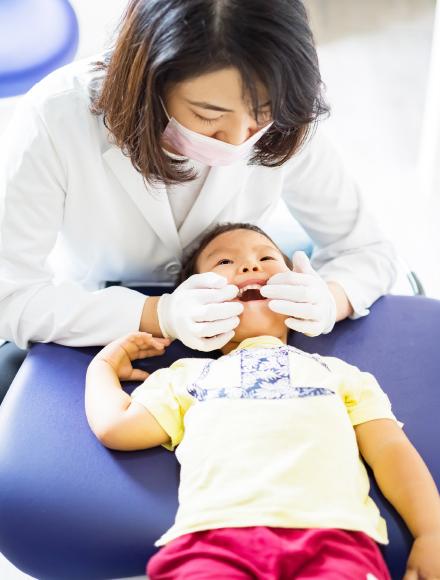 お子さまの歯並びが気になる方は、まずご相談下さい。